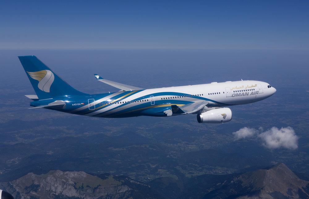 اعلام تاریخ پرواز عمان ایر برای ایران